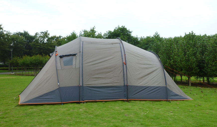 6 Persons Tunnel Family Camping Tent