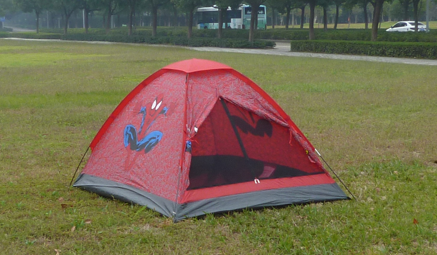 Camping Tent with Pattern for Children