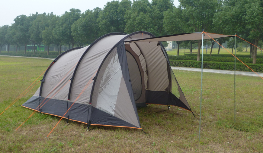 4-person Tunnel Tent with 2 Rooms
